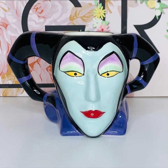 💗Disney Villains {MALEFICENT} Sculpted Mug!